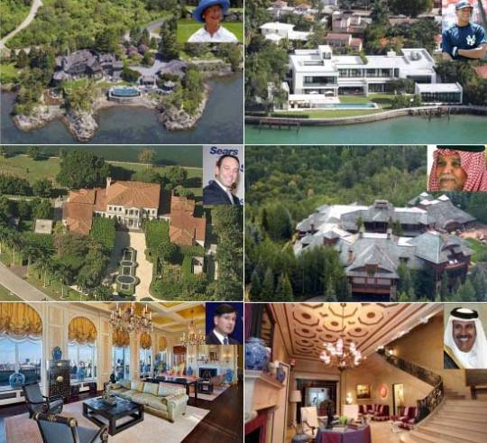 Billionaire buyers & sellers of the most luxurious home
