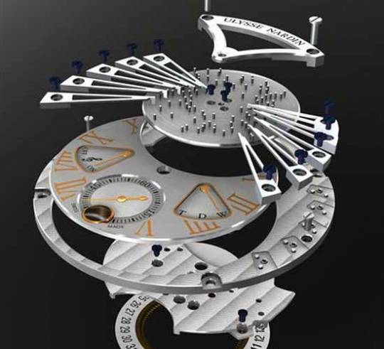 Ulysse Nardin Stranger watch movement
