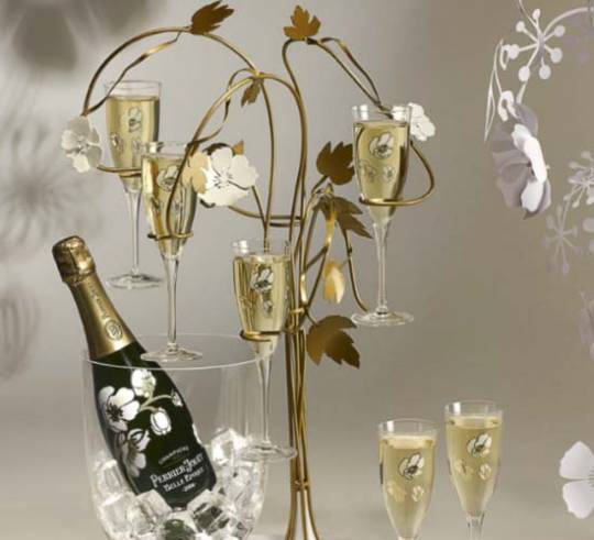The Enchanting Tree by Tord Boontje for Perrier Jouet