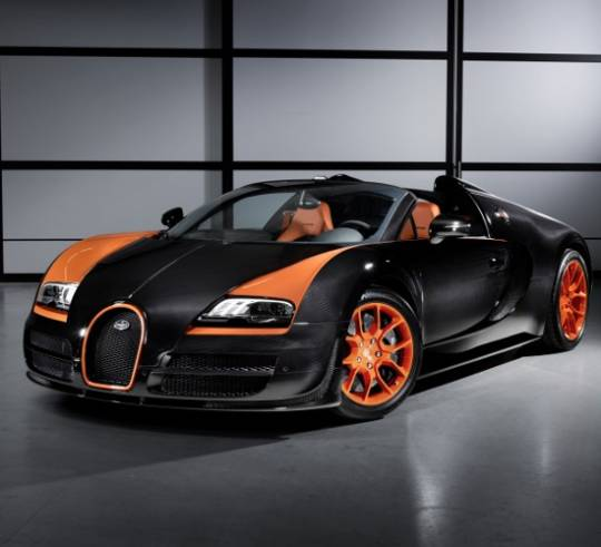 Bugatti Grand Sport World Record edition topping 408.8 km/ph of top speed