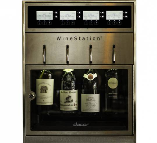 Dacor Discovery WineStation fits well into the decor just about anywhere