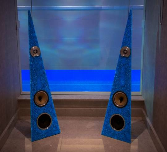 Rinzsound exotic speakers were designed by Arina Spyrinz