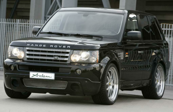 Kate Moss has been seen driving a Land Rover Range Rover Sport