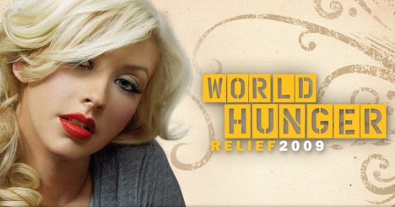 "Aguilera has been appointed the Ambassador for ""World Hunger Relief"" in 2009."