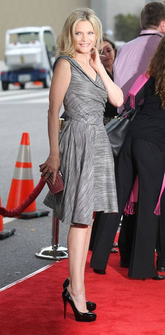 "Michelle was spotted donning these designer pumps at the LA film festival premiere of ""People Like Us"" on June 2012."