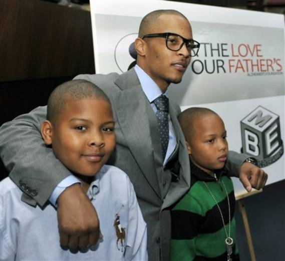 One of the co-founders of the For the Love of our Fathers with Tameka Cottle, T.I spends a lot of his time working to raise funds for this charity.