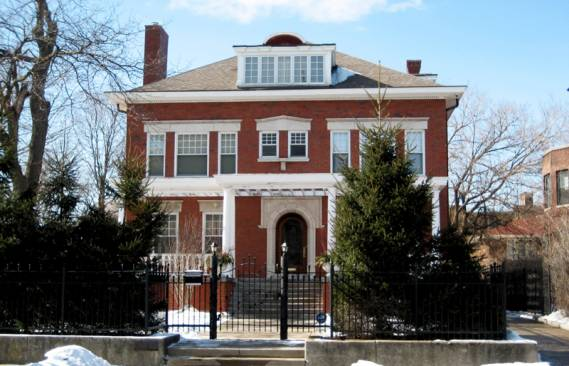 Barack Obama's Chicago home