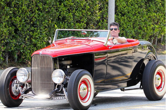 Simon Cowell's 1932 Ford V8 Mode B