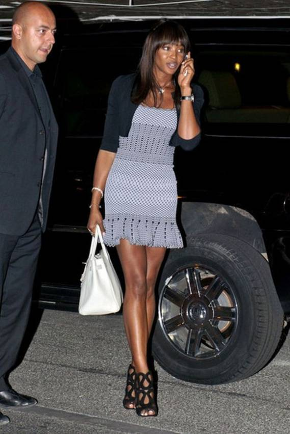This open toe ankle boots are very popular with celebrity supermodel Naomi Campbell.