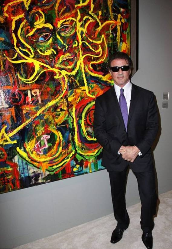 Sylvester Stallone Art Collection