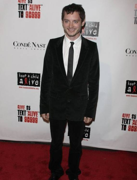 Elijah Wood at Keep A Child Alive event