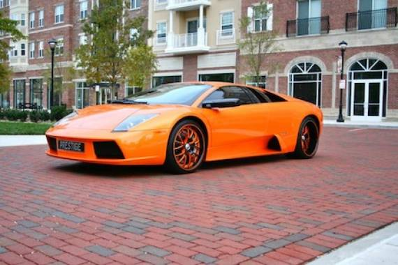 photo of Bow Wow Lamborghini Murcielago - car