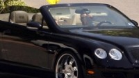 Victoria Beckham drives Bentley Continental GT