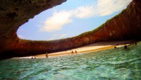 The Hidden Beach In Puerto Vallarta