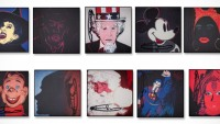 Warhol portfolio, decorative items top sellers at Capo auction