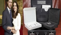 Price William and Kate's S.T. Dupont travel trunk
