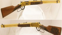 Gold-Plated NM Centennial Rifle for a charitable cause