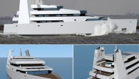 SVD concept XXI superyacht breaks convention to take an eco friendly theme of comfort and luxury