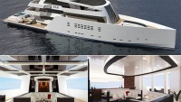 Designer Nick Meza envisions Floating Palace 'R&R' Yacht for the superrich