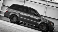 Designer A.Kahn gives the Range Rover a 'military' makeover