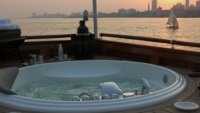 Jacuzzi on the main deck