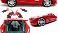 Flash Rods Mercedes SLS model car has a hidden USB Hard Drive: Perfect gift toy for aficionado's