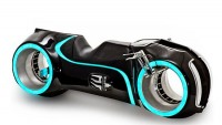 Custom made Tron light-cycle replica up for grabs