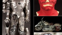 The Captain America Avenger Auction offers Iron Man II suit & hollywood props for collectors