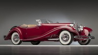 1935 Mercedes-Benz 500 K Roadster confiscated in Germany from a car collector