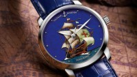 Ulysse Nardin Classico Limited Edition Santa Maria frames the glory of boldest sail merchant ship
