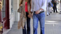 Sofia Vergara and her fiance Nick Loeb
