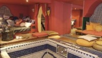 Turkish spa in basement