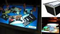 GestureTek's space-age Illuminate Multi-Touch Table