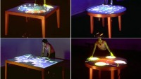 Composition on the Table – Interactive Artwork on Mixed Reality