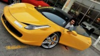 Dhiaa Al-Essa, 21-year-old student, is proud owner of 30 supercars