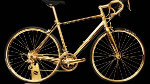 Deluxe Cycling: Goldgenie's 24 Karat Gold Plated Bike Selling For $390,000