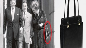 Margaret Thatcher's iconic Asprey handbag is one of the world's most expensive handbags