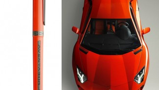 Limited edition OMAS pen inspired by Lamborghini Aventador