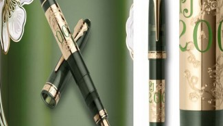 Perrier-Jouet Anniversary Edition pen by Omas