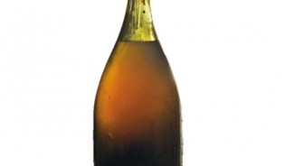 """The King of Wines"" A 1774 Bottle of Vin Jaune offerred at Christie's Fine wines auction"