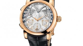 Ulysse Nardin presents world's first musical watch that plays Frank Sinatra's tunes