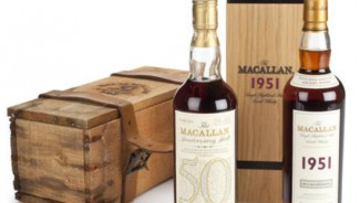 A 50 years old bottle of Macallan Anniversary Scotch sold for $40k