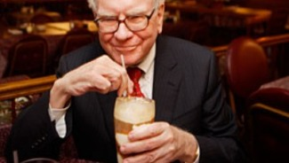 A lunch auction date with Warren Buffet for $2.7 million