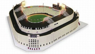 Hammacher wants you to dream big with your own 1/8 Scale 1961 Yankee stadium