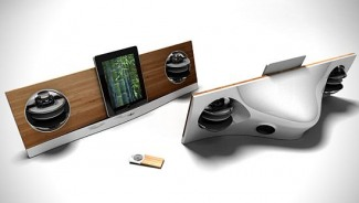 AeroPad Two: iPod, iPad & iPhone Dock Speaker by Jarre