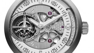 ARMIN STROM Gravity is the first watch to feature an automatic winding mechanism