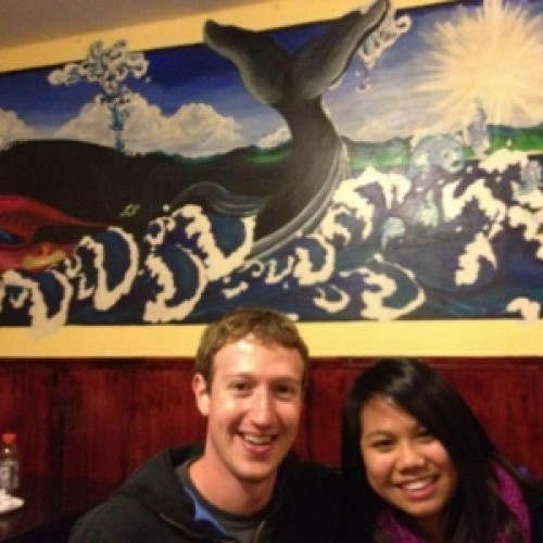 Mark Zuckerberg and Priscilla