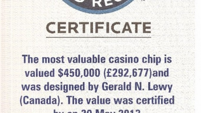 Exclusive Story: The Most Valuable Casino-Disk Ever Created