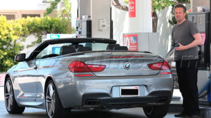 photo of Matthew Perry BMW 6 Series Convertible - car