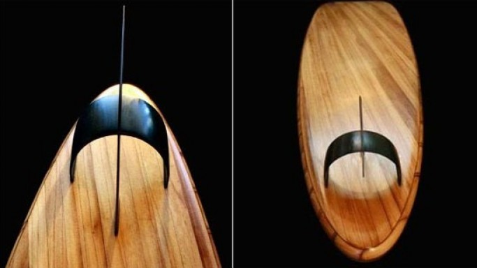 Most expensive surfboard: A $500k Roy Stewart longboard